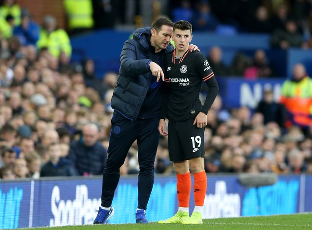 Chelsea manager Frank Lampard (left) holds Mason Mount in high regard
