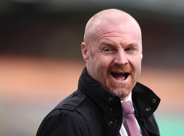Sean Dyche's Burnley are yet to win in the Premier League this season (Alex Pantling/PA)