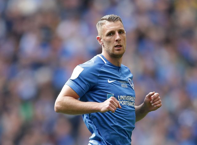 Portsmouth's Lee Brown is fit to face Crewe