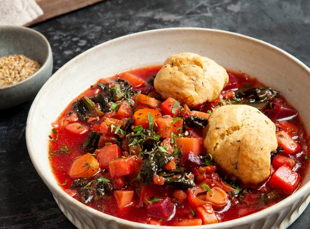 This soup is a real winter warmer (Seven Dials/Andrew Hayes-Watkins/PA)