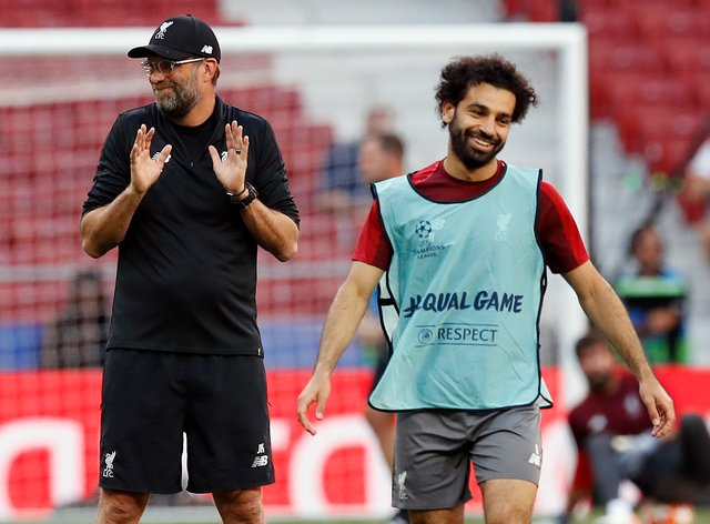 <p>Klopp has warned Salah about his stance on the coronavirus pandemic</p>