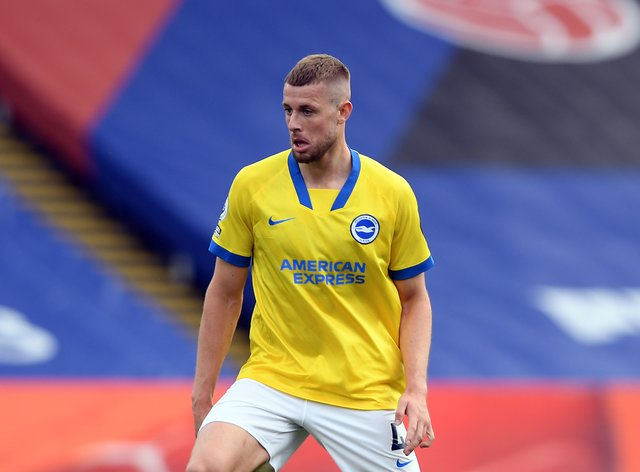 Brighton's Adam Webster has been impressed with the improvements made by Aston Villa.