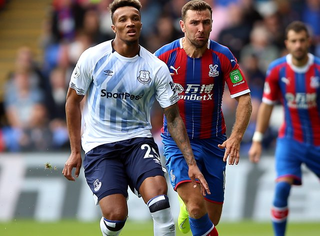 Everton midfielder Jean-Philippe Gbamin is closing on a return after more than a year on the sidelines