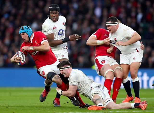 Justin Tipuric, left, will captain Wales in the absence of Alun Wyn Jones