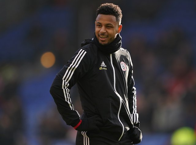 Lys Mousset has yet to play this season due to injury but he could be back in the Sheffield United squad on Sunday.