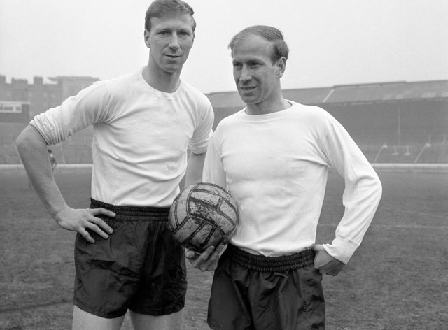 Bobby and Jack Charlton are just two of five members of England's 1966 World Cup-winning team who developed dementia