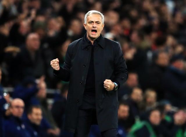 Jose Mourinho celebrated his one-year anniversary at Tottenham on Friday