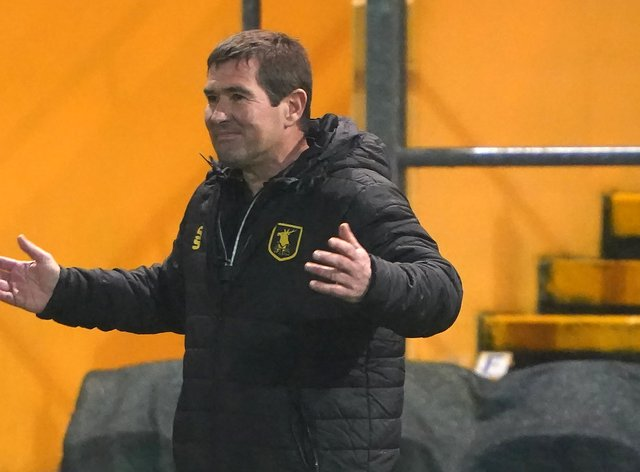 Mansfield manager Nigel Clough was delighted with his team despite the late equaliser