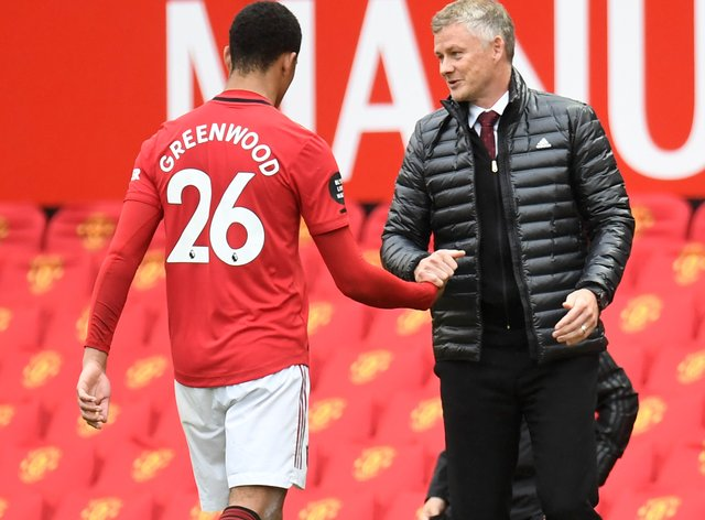 Manchester United manager Ole Gunnar Solskjaer is backing Mason Greenwood to soon be back to his best.