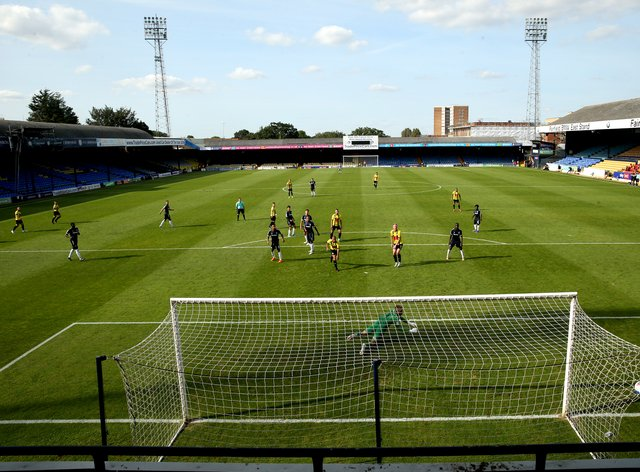 Roots Hall will not be hosting Cambridge on Saturday