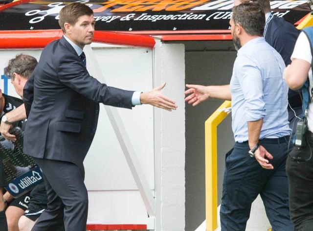 Rangers manager Steven Gerrard has full respect for Derek McInnes' Aberdeen side