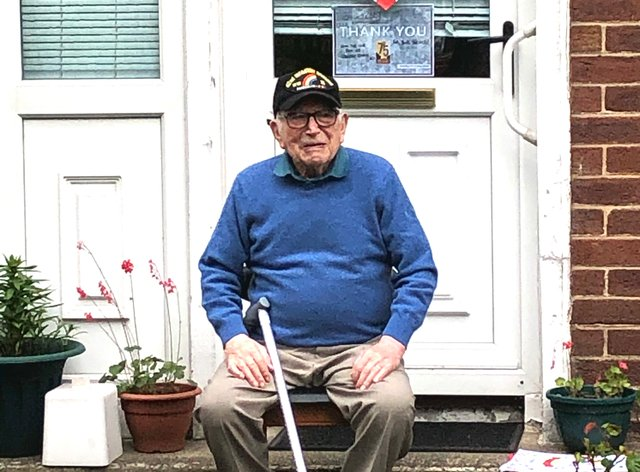 Second World War veteran Teddy Dixon