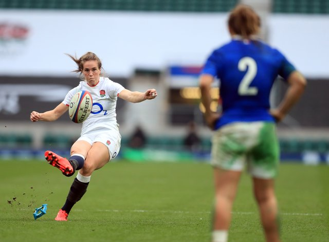 <p>Scarratt came off the bench to make the difference for England on Saturday</p>