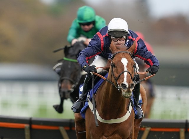 Song For Some won the Coral Hurdle at Ascot
