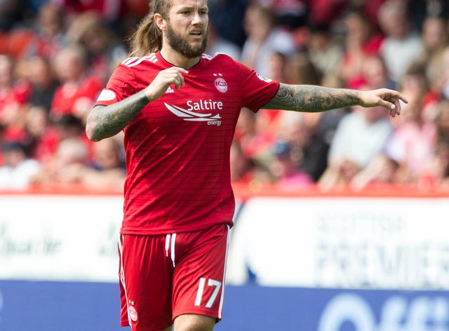 Former Aberdeen striker Stevie May scored St Johnstone's leveller