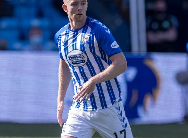 Stuart Findlay was sent off for Kilmarnock