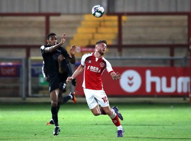 Fleetwood v Port Vale – Carabao Cup – Second Round – Highbury Stadium