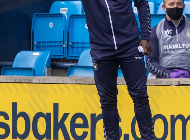 Kilmarnock manager Alex Dyer