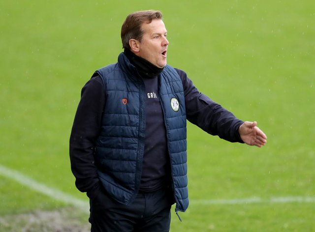 Mark Cooper's Forest Green earned a point late on