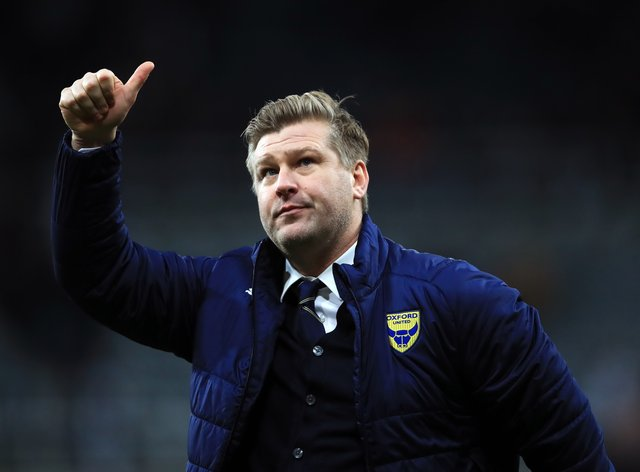 Karl Robinson was pleased with his side's display