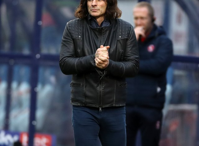 Wycombe manager Gareth Ainsworth was impressed by his side's display against Brentford
