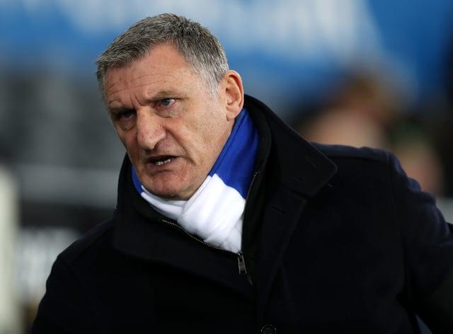 Blackburn manager Tony Mowbray