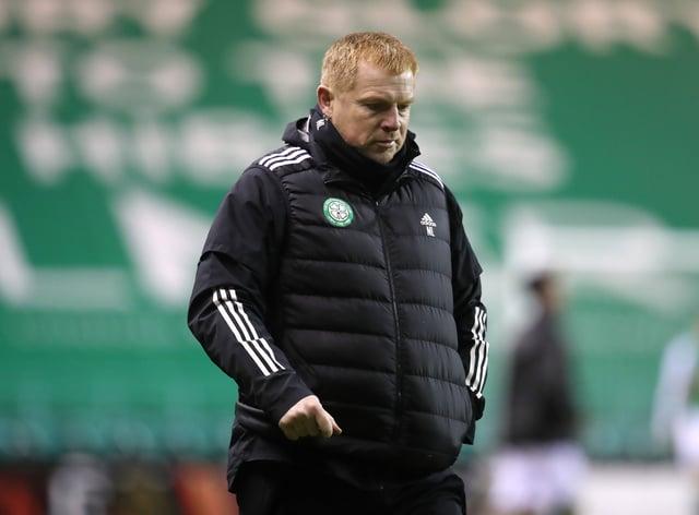 Manager Neil Lennon felt Celtic shot themselves in the foot against Hibs