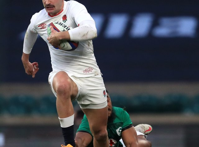 Jonny May scored a brilliant try for England against Ireland