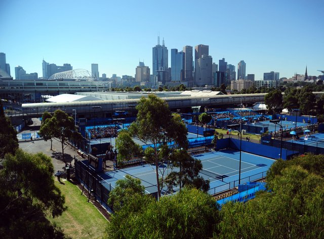 <p>The Australian Open traditionally takes place in January</p>