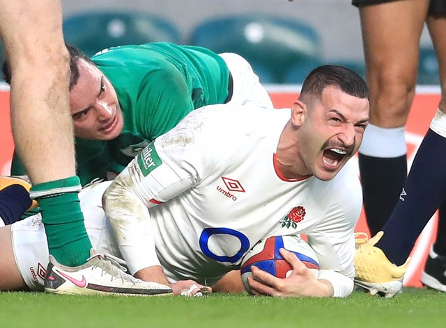 Jonny May scored one of the greatest England tries at Twickenham