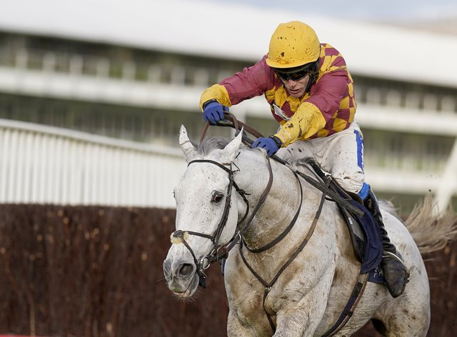 Ramses de Teillee on his way to wining at Cheltenham
