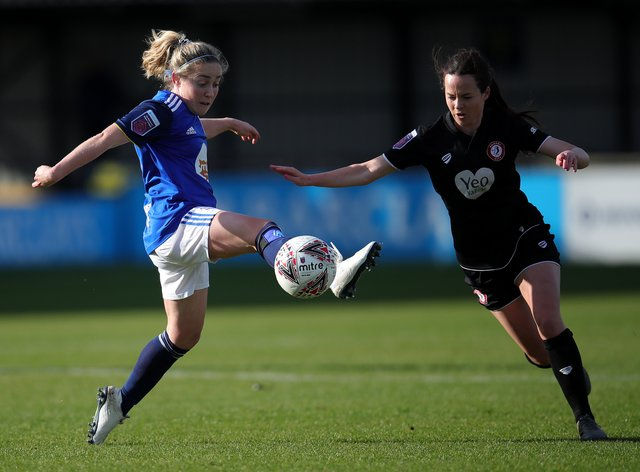 <p>Olivia Chance (right) heads to the W-League</p>