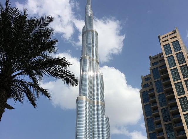 A general view of the Burj Khalifa in dubai (Carey Tompsett/PA)