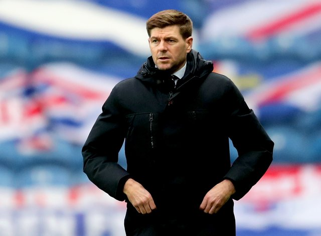 Steven Gerrard wants a big European night at Ibrox