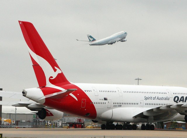 """Qantas Chief Executive Alan Joyce said he's been talking to his counterparts at other airlines around the world about the possibility of a """"vaccination passport"""""""