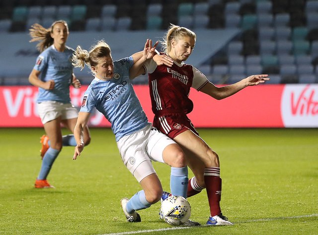 <p>City v Arsenal can be seen on December 13</p>