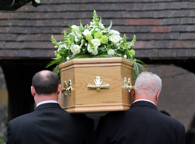A funeral (PA)
