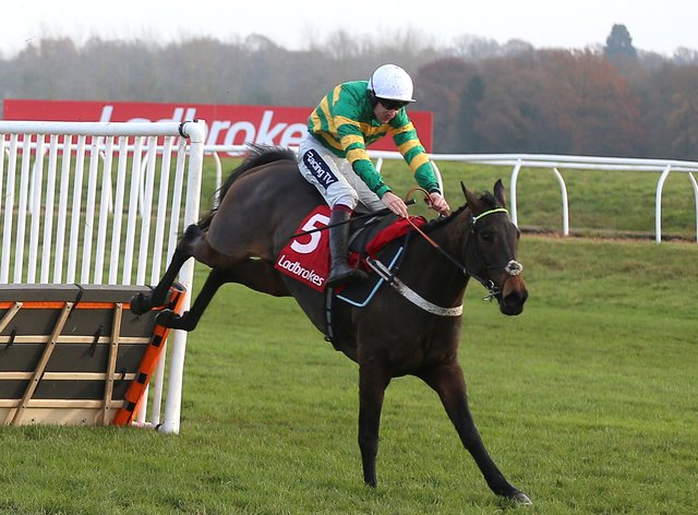 Aidan Coleman renews his partnership with Epatante in the Betfair Fighting Fifth Hurdle at Newcastle