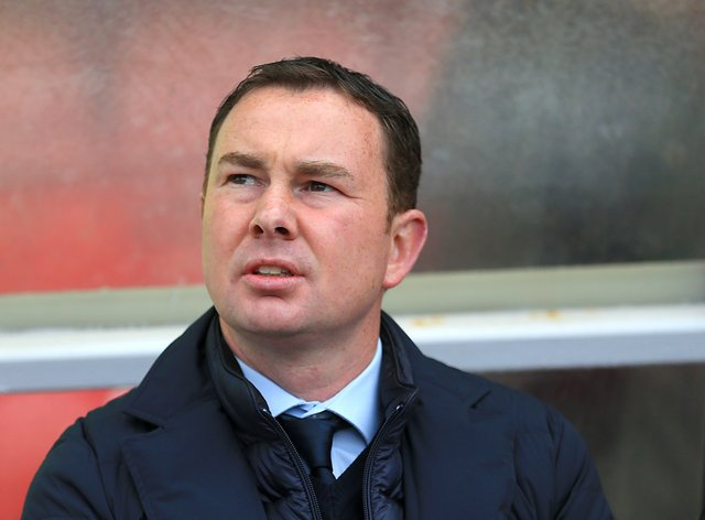 Derek Adams did not think much of Salford