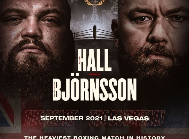 Hall and Bjornsson will meet in Las Vegas next year