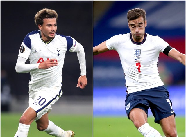 Dele Alli and Harry Winks