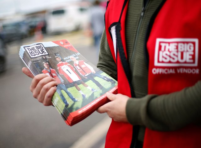 Virgin Media to donate to Big Issue