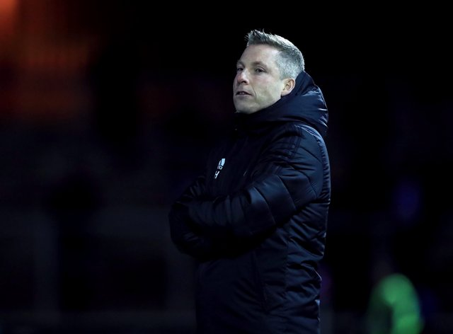 Neil Harris' Cardiff have won only one of their last eight games (Mike Egerton/PA).