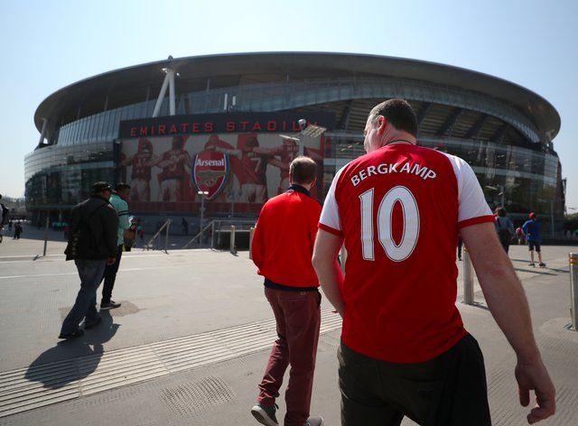 Arsenal fans will be welcomed back to the Emirates Stadium for the Europa League tie against Rapid Vienna