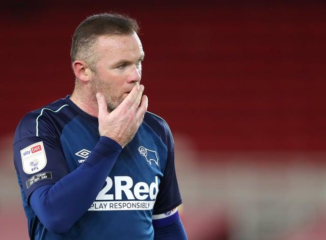 <p>Rooney will bid to turn around Derby's poor run of form</p>