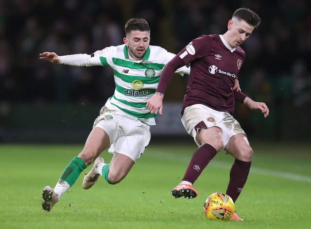 Hearts' Jamie Walker (right) expecting tough test at Alloa