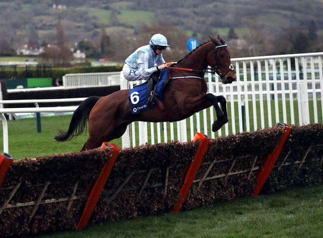 The unbeaten Honeysuckle bids to repeat last year's victory in the Hatton's Grace Hurdle