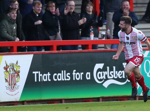 Stevenage's Danny Newton looks set to keep his place for the FA Cup tie against Hull