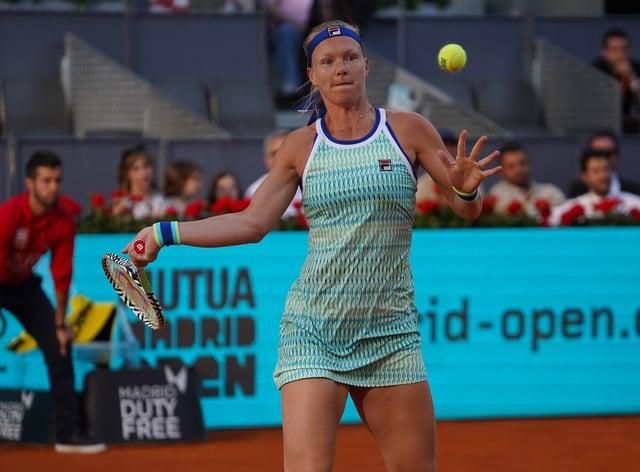 Kiki Bertens won the women's singles title at the Madrid Open in 2019