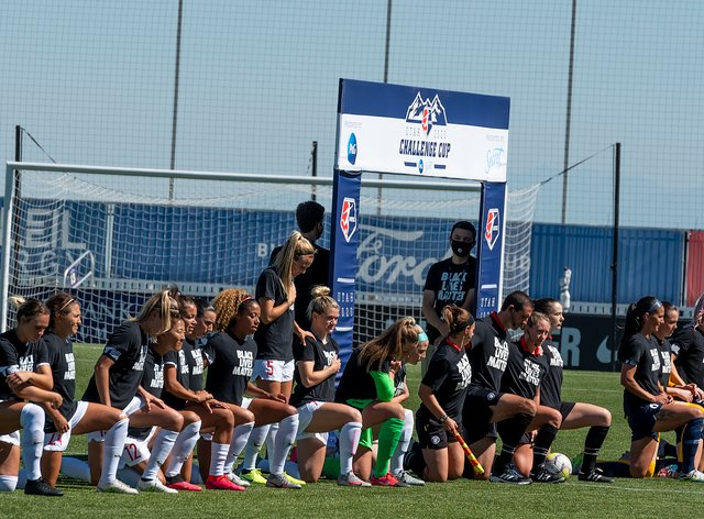 <p>The US soccer team are set to protest against 'racial injustice' and 'police brutality'&nbsp;</p>